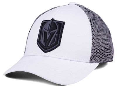 Vegas Golden Knights adidas NHL Meshback Trucker Hat