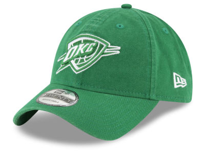 Oklahoma City Thunder New Era 2018 NBA St. Patrick's Day 9TWENTY Cap