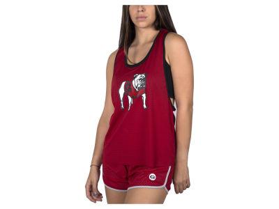 02dd5a1556 Georgia Bulldogs nuyu NCAA Women s Mesh Tank Bralette