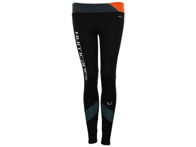 Miami Hurricanes NCAA Women's Mesh Yoga Legging