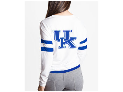 Kentucky Wildcats nuyu NCAA Women's Long Sleeve Crew Sweatshirt