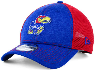 Kansas Jayhawks New Era NCAA Shadow Turn 9FORTY Cap