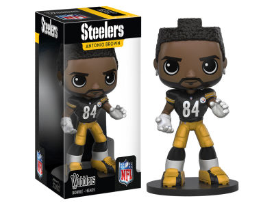 Pittsburgh Steelers Antonio Brown Wobbler Figure Wave 1 Toy