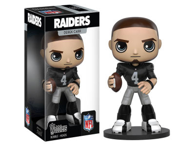 Oakland Raiders Derek Carr Wobbler Figure Wave 1 Toy