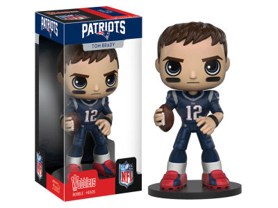New England Patriots Tom Brady Funko Wobbler Figure Wave 1 Toy
