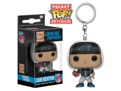 Carolina Panthers Cam Newton POP! Vinyl Keychain Wave Toy