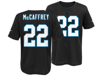 Carolina Panthers Christian McCaffrey Nike NFL Youth Pride Name and Number T-Shirt