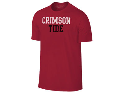 Alabama Crimson Tide Retro Brand NCAA Men's Chalk Talk Dual Blend T-Shirt