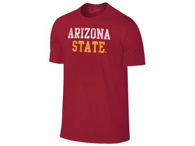 Arizona State Sun Devils Retro Brand NCAA Men's Chalk Talk Dual Blend T-Shirt