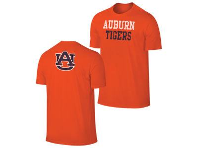 Auburn Tigers Retro Brand NCAA Men's Chalk Talk Dual Blend T-Shirt