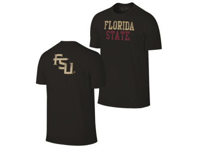 Florida State Seminoles Retro Brand NCAA Men's Chalk Talk Dual Blend T-Shirt