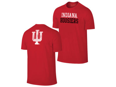 Indiana Hoosiers Retro Brand NCAA Men's Chalk Talk Dual Blend T-Shirt