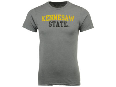 Kennesaw State Owls Retro Brand NCAA Men's Chalk Talk Dual Blend T-Shirt