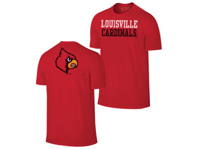 Louisville Cardinals Retro Brand NCAA Men's Chalk Talk Dual Blend T-Shirt