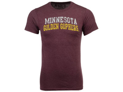 Minnesota Golden Gophers Retro Brand NCAA Men's Chalk Talk Dual Blend T-Shirt