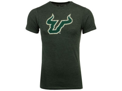 South Florida Bulls Retro Brand NCAA Men's Chalk Talk Dual Blend T-Shirt