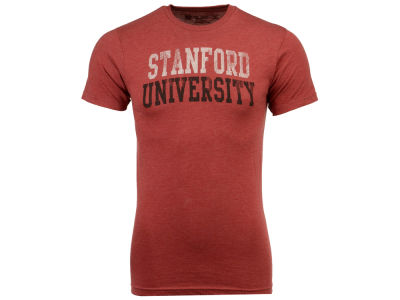 Stanford Cardinal Retro Brand NCAA Men's Chalk Talk Dual Blend T-Shirt