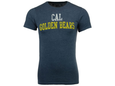 California Golden Bears Retro Brand NCAA Men's Chalk Talk Dual Blend T-Shirt