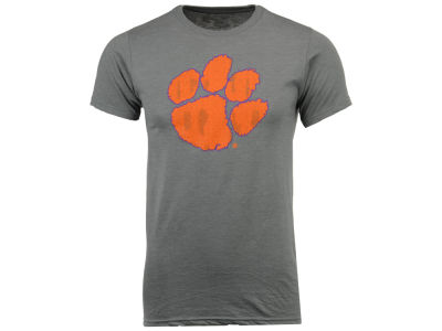 Clemson Tigers NCAA Men's Big Logo Dual Blend T-Shirt