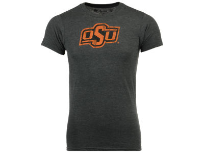 Oklahoma State Cowboys Retro Brand NCAA Men's Big Logo Dual Blend T-Shirt
