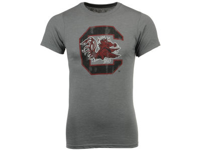 South Carolina Gamecocks NCAA Men's Big Logo Dual Blend T-Shirt