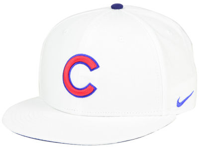 Chicago Cubs Nike MLB White Ripstop Snapback Cap
