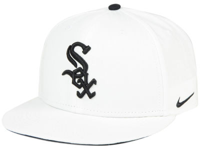 Chicago White Sox Nike MLB White Ripstop Snapback Cap