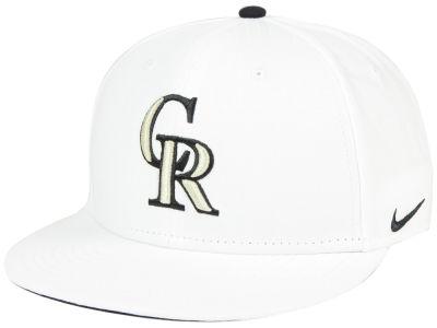 online store 550f0 6ebfa netherlands colorado rockies nike mlb white ripstop snapback cap 36852 d18c3
