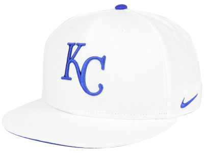 Kansas City Royals Nike MLB White Ripstop Snapback Cap