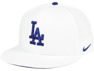 Los Angeles Dodgers Nike MLB White Ripstop Snapback Cap