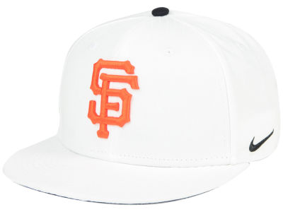 San Francisco Giants Nike MLB White Ripstop Snapback Cap