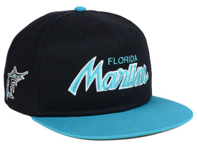 reputable site fd457 49f9c ... order miami marlins nike mlb pro sport specialties snapback cap 60e94  f3e2b