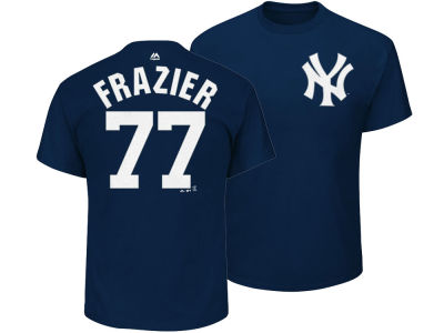 New York Yankees Clint Frazier Majestic MLB Men's Official Player T-Shirt