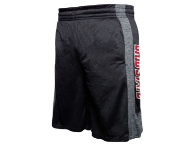 Ohio State Buckeyes J America NCAA Men's Spacedyed Poly Mesh Short