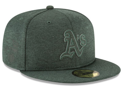Oakland Athletics New Era 2018 MLB Clubhouse 59FIFTY Cap