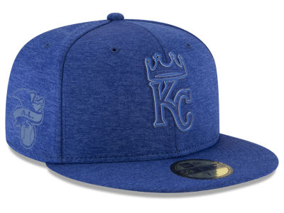 Kansas City Royals New Era 2018 MLB Clubhouse Kids 59FIFTY Cap