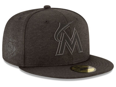 Miami Marlins New Era 2018 MLB Clubhouse Kids 59FIFTY Cap