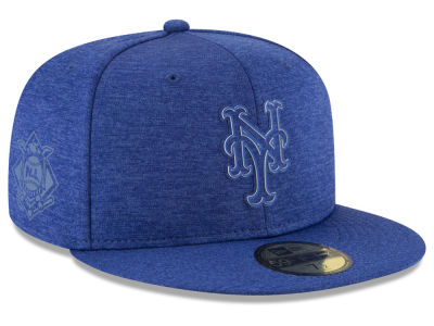 New York Mets New Era 2018 MLB Clubhouse Kids 59FIFTY Cap