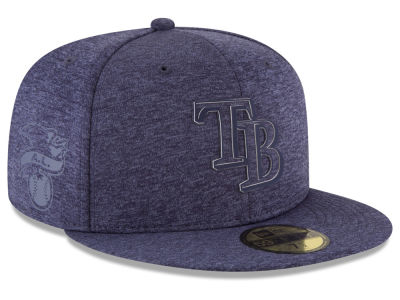 Tampa Bay Rays New Era 2018 MLB Clubhouse Kids 59FIFTY Cap