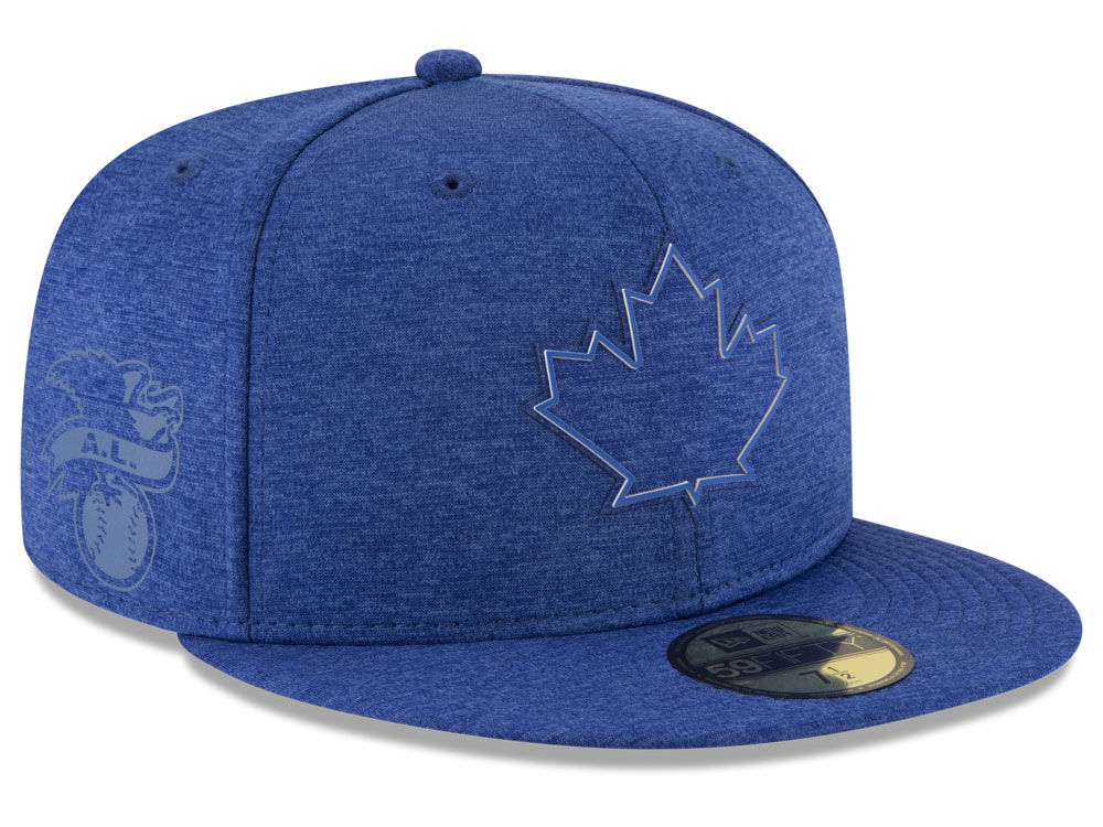 53a29dd4e8b Toronto Blue Jays New Era 2018 MLB Clubhouse Kids 59FIFTY Cap