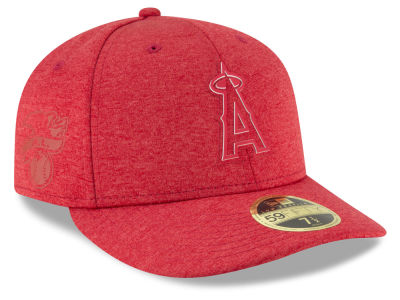 Los Angeles Angels New Era 2018 MLB Clubhouse Low Crown 59FIFTY Cap