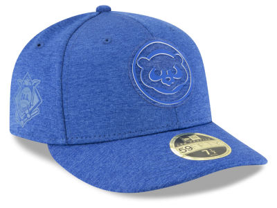 Chicago Cubs New Era 2018 MLB Clubhouse Low Crown 59FIFTY Cap