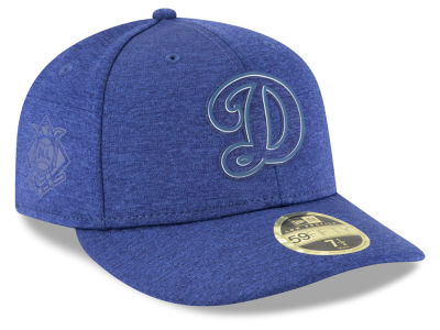 Los Angeles Dodgers New Era 2018 MLB Clubhouse Low Crown 59FIFTY Cap