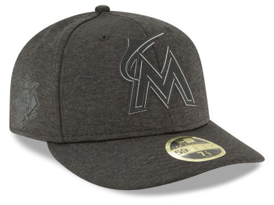 Miami Marlins New Era 2018 MLB Clubhouse Low Crown 59FIFTY Cap