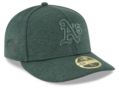 Oakland Athletics New Era 2018 MLB Clubhouse Low Crown 59FIFTY Cap