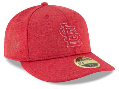 St. Louis Cardinals New Era 2018 MLB Clubhouse Low Crown 59FIFTY Cap