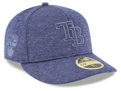 Tampa Bay Rays New Era 2018 MLB Clubhouse Low Crown 59FIFTY Cap