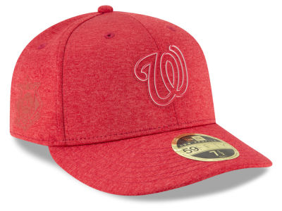 Washington Nationals New Era 2018 MLB Clubhouse Low Crown 59FIFTY Cap