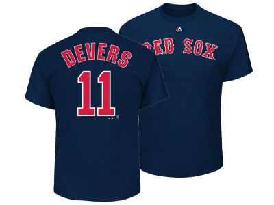 Boston Red Sox Rafael Devers Majestic MLB Men's Official Player T-Shirt