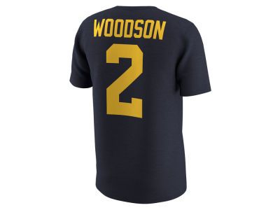 Michigan Wolverines Charles Woodson Nike NCAA Men's Name and Number T-shirt
